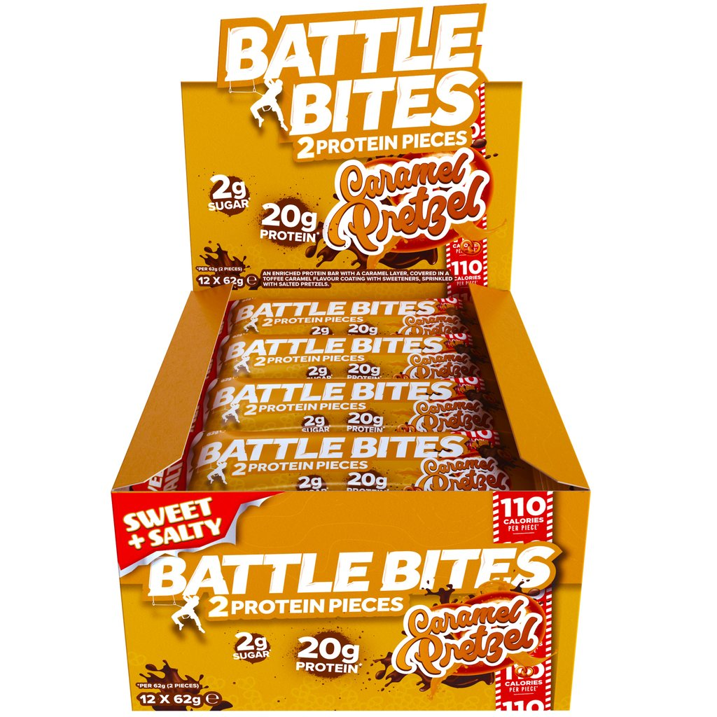 Battle Snacks Battle Bites Low-Carb Protein Bar (Box of 12) - Top Nutrition and Fitness Canada