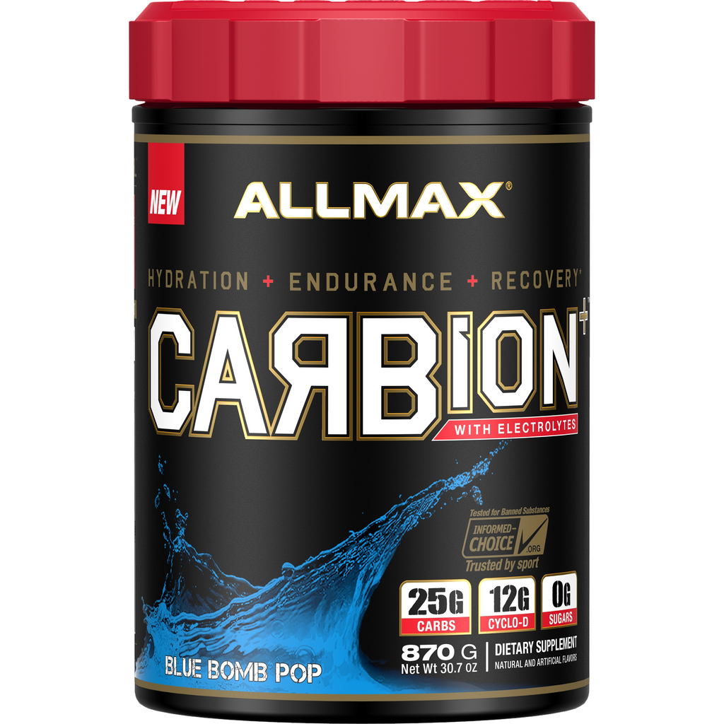 ALLMAX CARBION+Maximum Strength Electrolyte and Hydration Energy Drink (30 Servings) - Top Nutrition and Fitness Canada