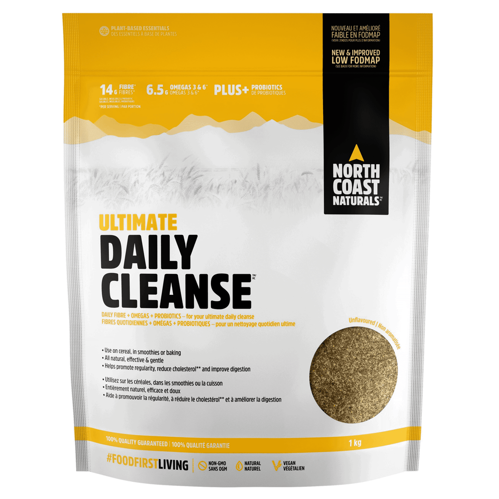 North Coast Naturals Ultimate Daily Cleanse Fibre and Essential Fatty Acids (1000g)