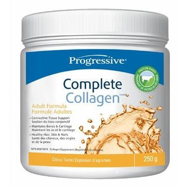 Progressive Complete Collagen (250g) - Top Nutrition and Fitness Canada