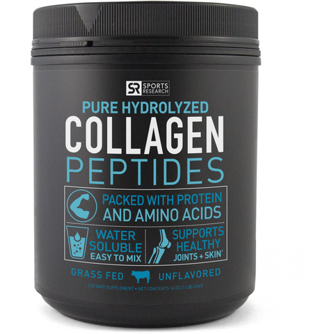 Sports Research Collagen Peptides (16 oz)