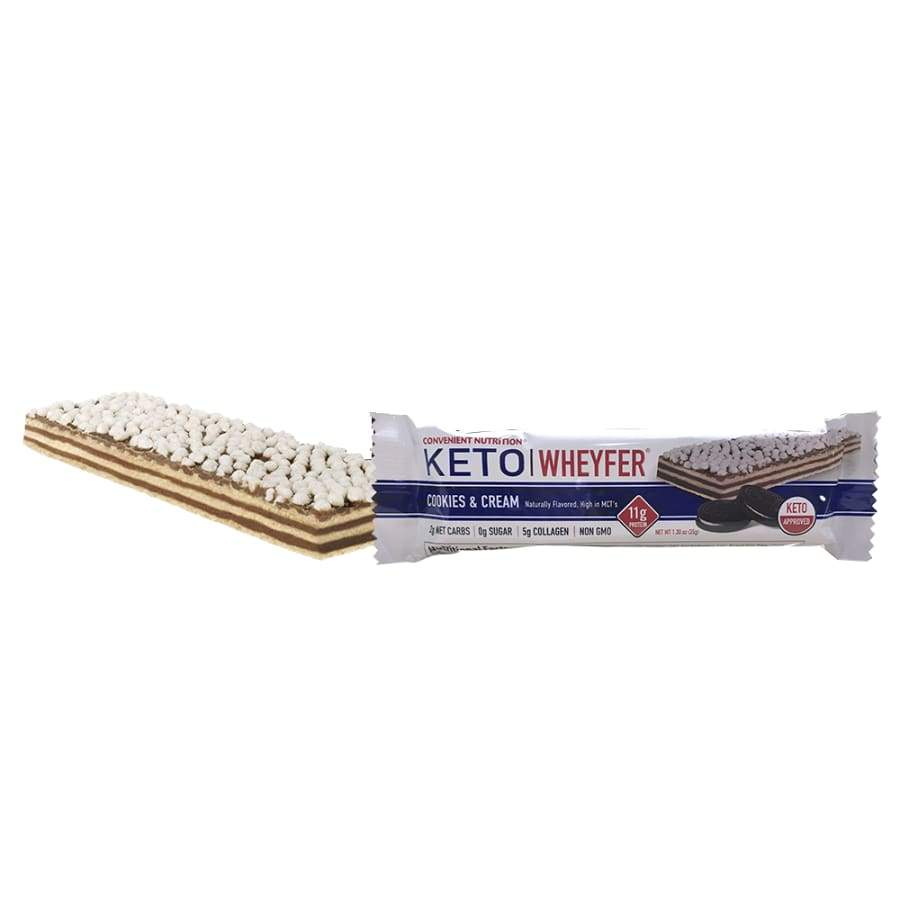 Convenient Nutrition KETO Wheyfer Protein Bar (1 Bar)
