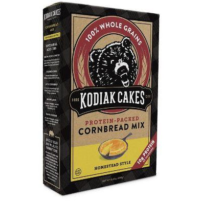 Kodiak Cakes Protein CORNBREAD MIX HOMESTEAD STYLE - Top Nutrition and Fitness Canada