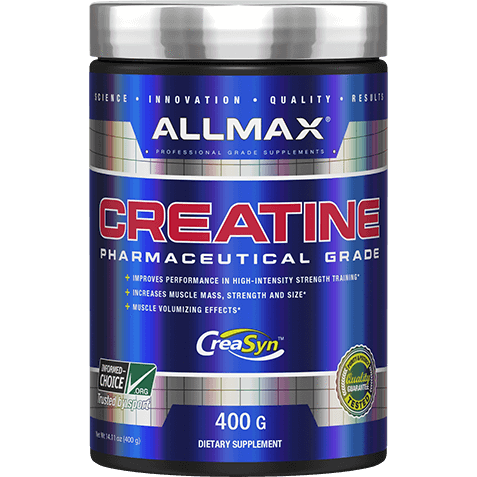 ALLMAX Creatine Monohydrate (400g) - Top Nutrition and Fitness Canada