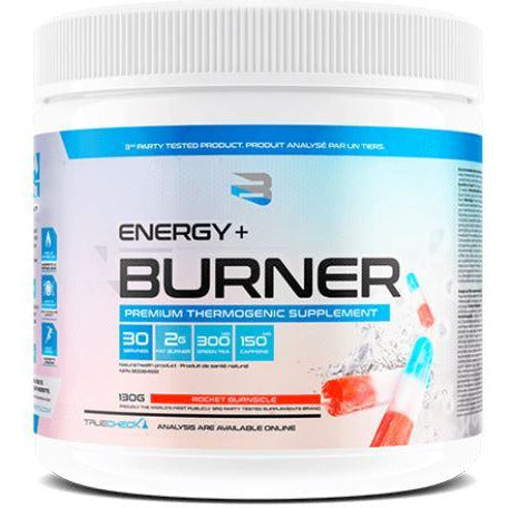 Believe Supplements Energy + Burner - Premium Thermogenic Supplement (30 servings) - Top Nutrition and Fitness Canada