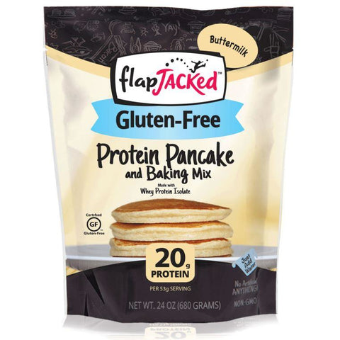 FlapJacked Gluten Free Protein Pancake Mix - Top Nutrition and Fitness Canada