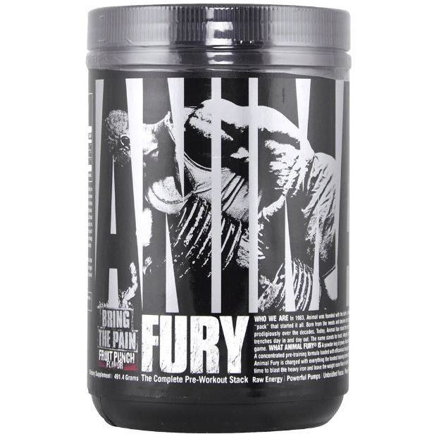 Animal Fury Pre-Workout