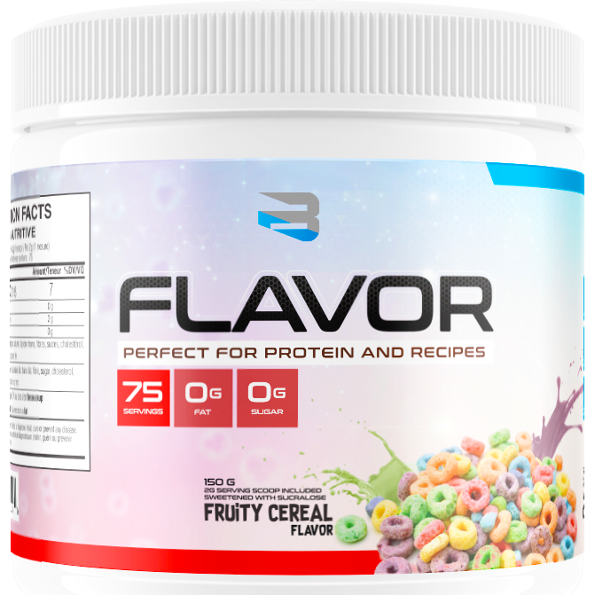 Believe Supplements Protein Flavor Pack (75 servings) (vegan, gluten-free and keto!) - Top Nutrition and Fitness Canada