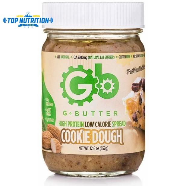 G Butter High Protein Low Calorie Spread *KEEP REFRIGERATED* - Top Nutrition and Fitness Canada