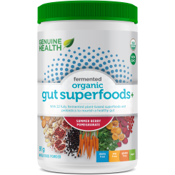 Fermented Organic Gut Superfoods+ (91g) - Top Nutrition and Fitness Canada