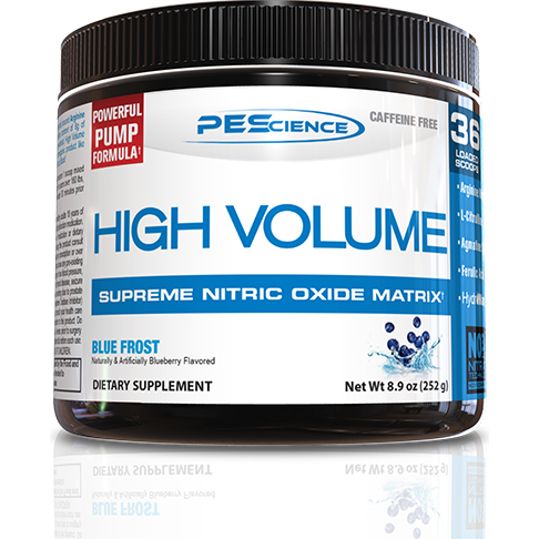 PEScience High Volume pre-workout - Top Nutrition and Fitness Canada