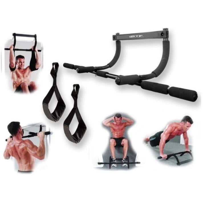 ATF Sports Doorway Gym with ab straps - Top Nutrition and Fitness Canada