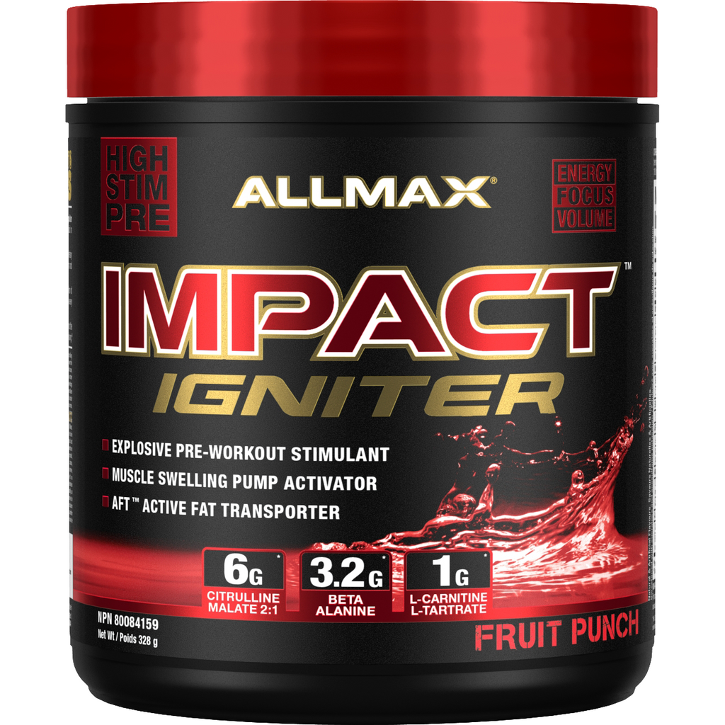 Allmax Nutrition Impact Igniter Pre-Workout (40 servings)