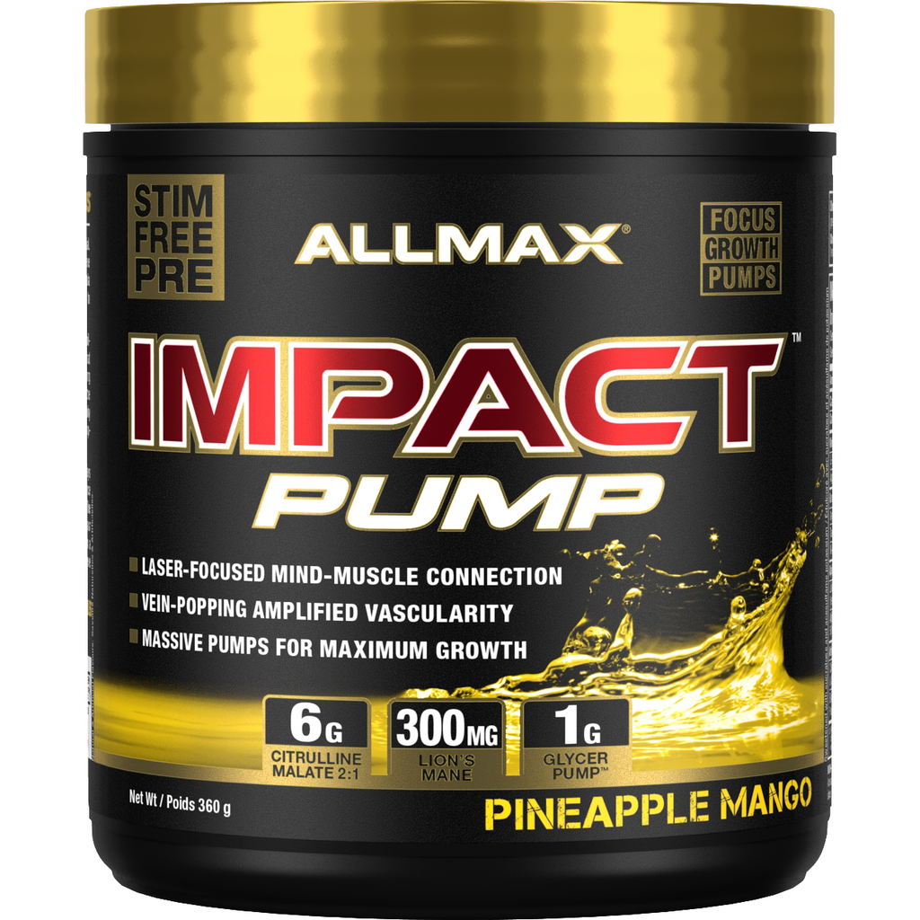 Allmax Nutrition Impact PUMP Pre-Workout (40 servings) - Top Nutrition and Fitness Canada