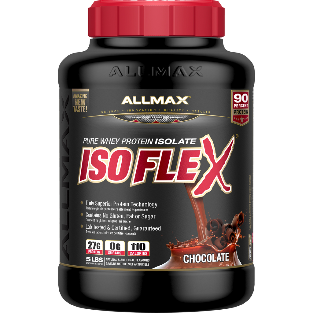 ALLMAX Isoflex (5 LBS) - Top Nutrition and Fitness Canada