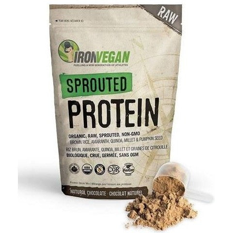 Iron Vegan Sprouted Protein (500g) - Top Nutrition and Fitness Canada