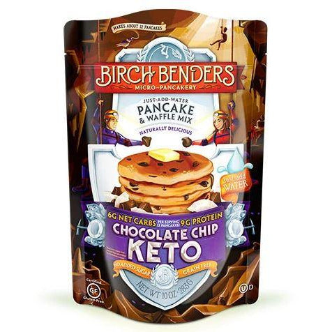 Birch Benders KETO Protein Chocolate Chip Pancake mix - Top Nutrition and Fitness Canada