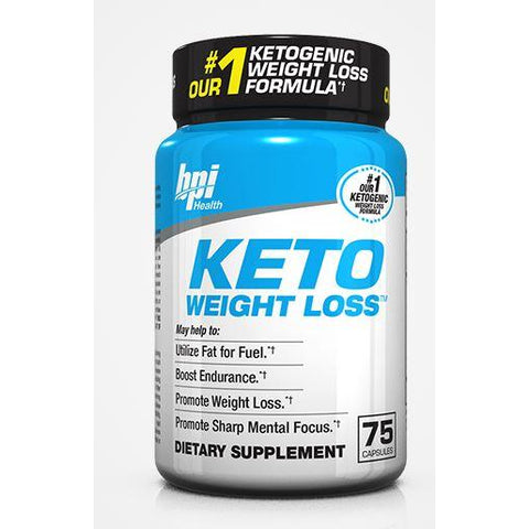 BPI Keto Weight Loss Pills (75 caps) - Top Nutrition and Fitness Canada