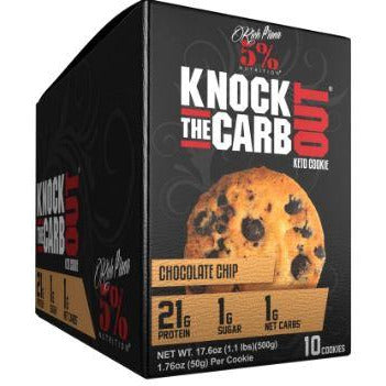 Knock The Carb Out Keto Protein Cookies (Box of 10) - Top Nutrition and Fitness Canada