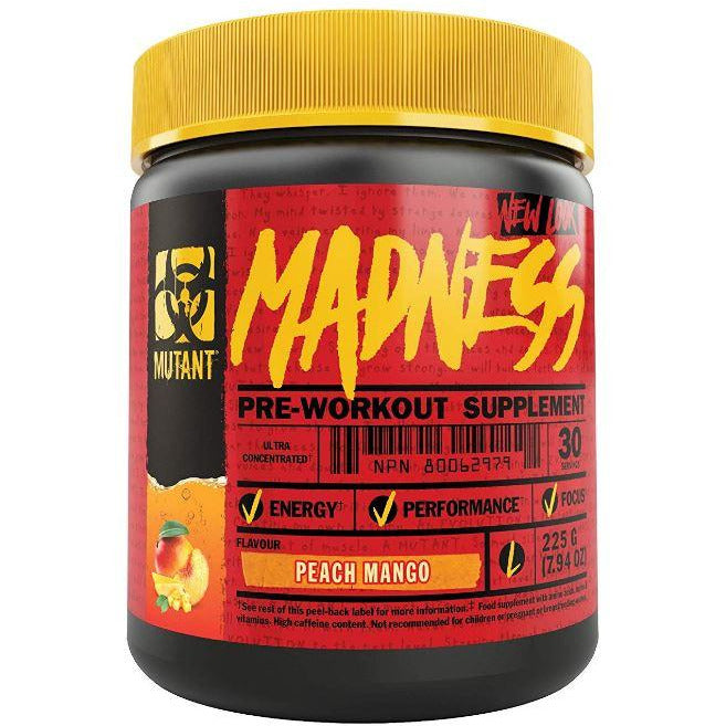Mutant Madness (30 servings) - Top Nutrition and Fitness Canada