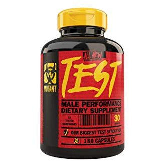 Mutant Test Booster (180 capsules) - Top Nutrition and Fitness Canada