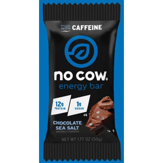 No Cow Vegan Gluten-Free Energy Bar (1 bar) - Top Nutrition and Fitness Canada