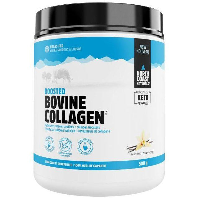North Coast Naturals Bovine Collagen (500g) - Top Nutrition and Fitness Canada