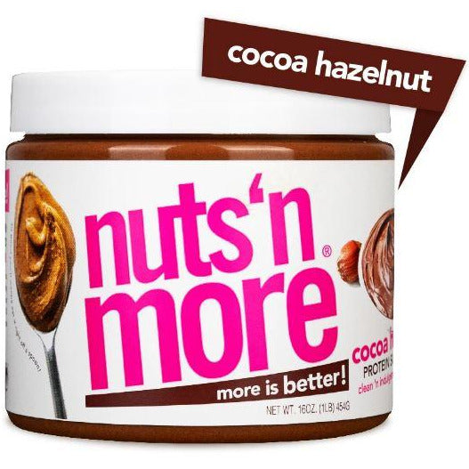 Nuts 'n More Hazelnut Protein Spread - Top Nutrition and Fitness Canada