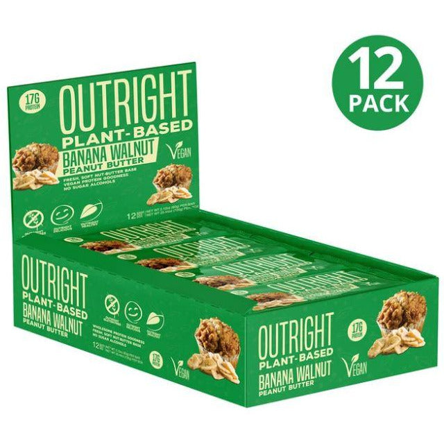 MTS Nutrition Outright Vegan Protein Bar (Box of 12) - Top Nutrition and Fitness Canada