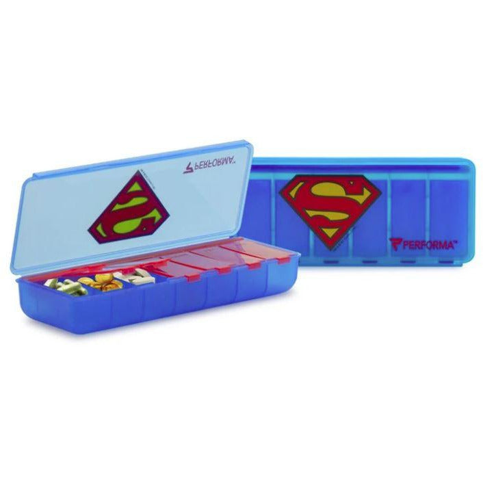 Performa 7-Day Superman Pill Container