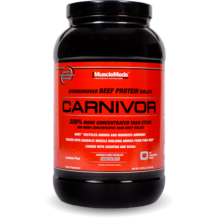 MuscleMeds Carnivor Beef Protein (2 lbs) - Top Nutrition and Fitness Canada