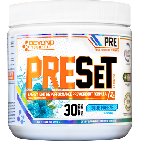 Beyond Yourself Pre-Set Pre-Workout (30 servings)