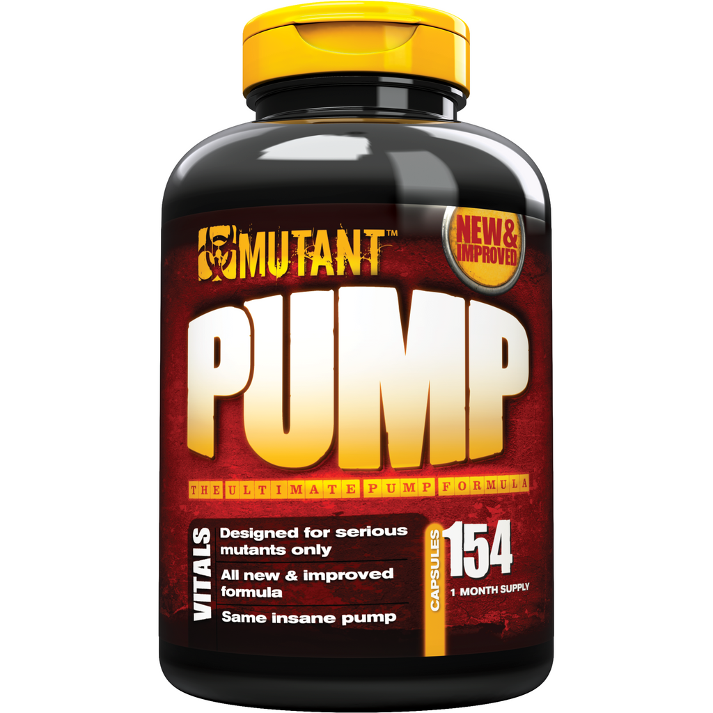 Mutant Pump (154 capsules) - Top Nutrition and Fitness Canada