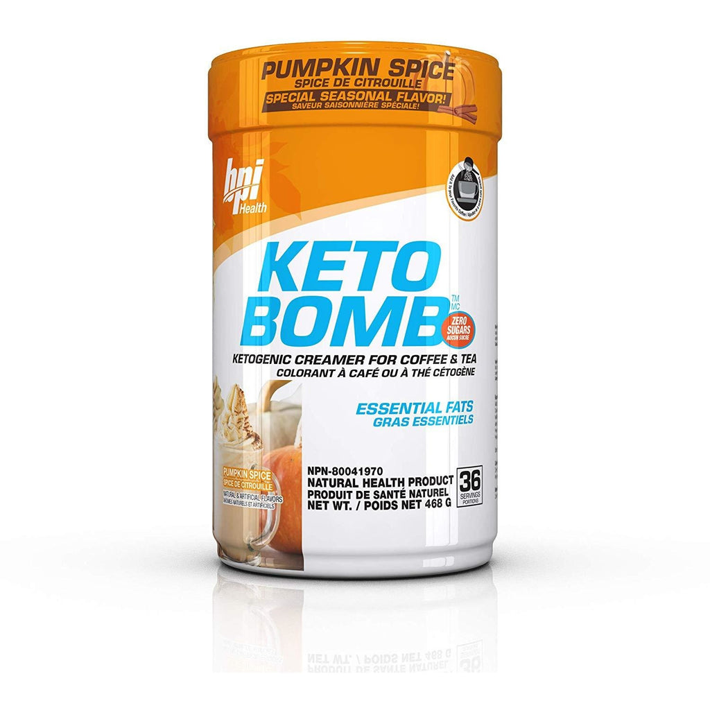 BPI Keto Bomb - Ketogenic MCT Creamer for Coffee and Tea - Top Nutrition and Fitness Canada