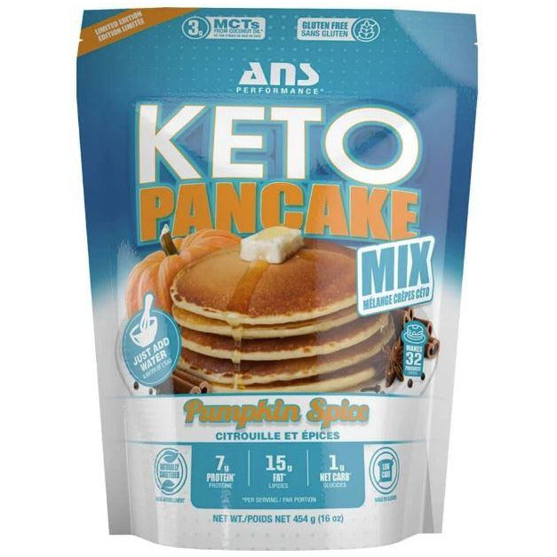 ANS Performance Keto Protein Pancake Mix (32 servings)