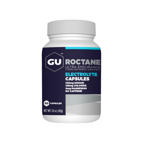 GU Roctane Electrolyte Capsules (50 caps) - Top Nutrition and Fitness Canada