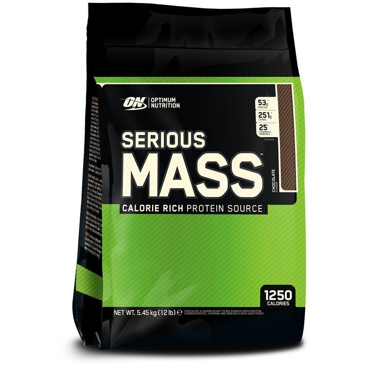 Optimum Nutrition Serious Mass (12 lbs) - Top Nutrition and Fitness Canada
