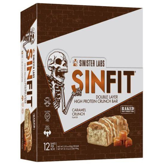 Sinister Labs SINFIT Protein Bars (Box of 12)