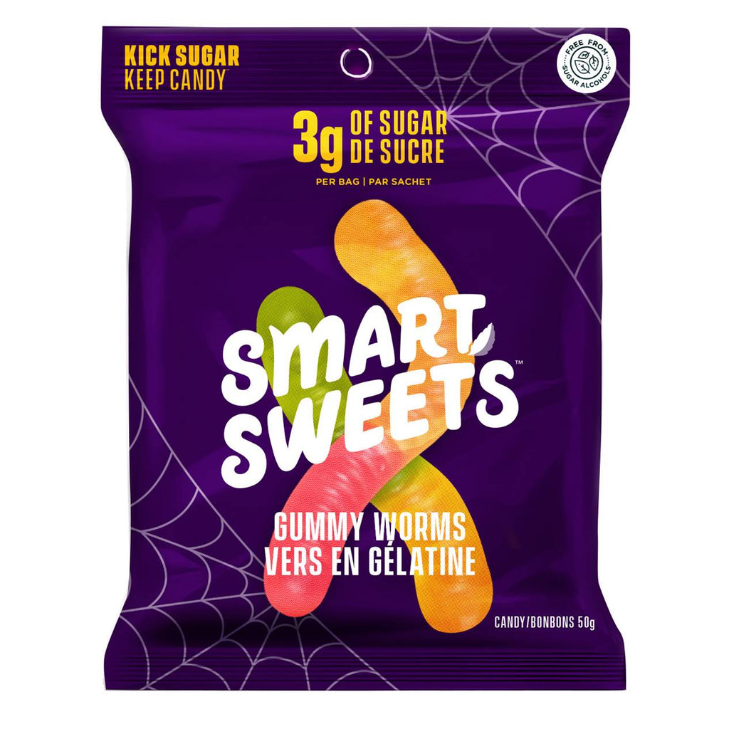 SmartSweets LIMITED EDITION Gummy Worms (1 bag)