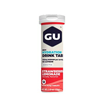 GU Hydration Drink Tabs (12 tabs) - Top Nutrition and Fitness Canada