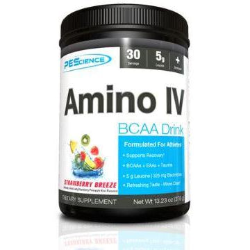 PEScience Amino IV BCAAs (30 servings) - Top Nutrition and Fitness Canada