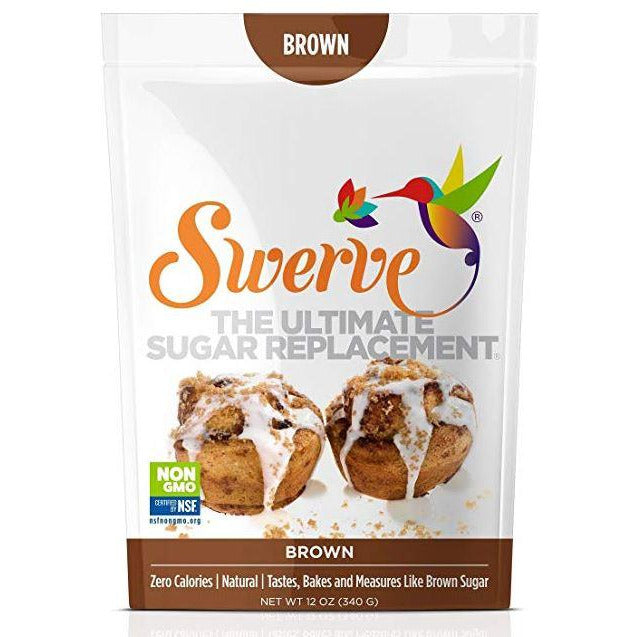 Swerve Brown Sugar The Ultimate Sugar Replacement (340g) - Top Nutrition and Fitness Canada