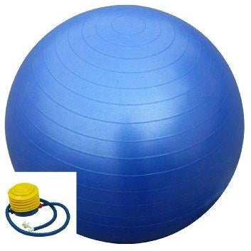 Fitness Flow Swiss Ball with Pump - Top Nutrition and Fitness Canada