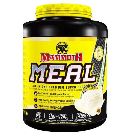 Mammoth Meal Replacement Protein Powder (40 servings) - Top Nutrition and Fitness Canada