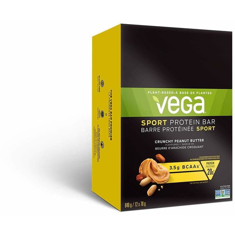 NEW Vega Sport Protein Bar (Box of 12) - Top Nutrition and Fitness Canada