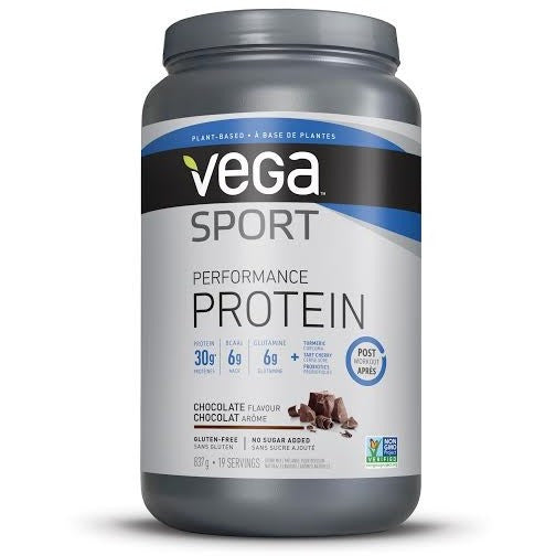 Vega Sport Performance Protein (19 serv.) - Top Nutrition and Fitness Canada