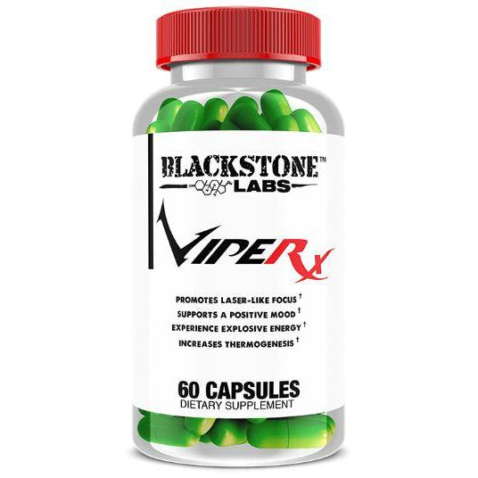 Blackstone Labs ViperX Fat Burner (60 Capsules) - Top Nutrition and Fitness Canada