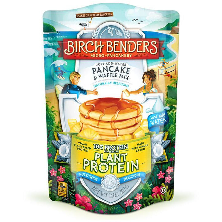 Birch Benders Plant Protein Pancake and Waffle Mix (VEGAN) - Top Nutrition and Fitness Canada