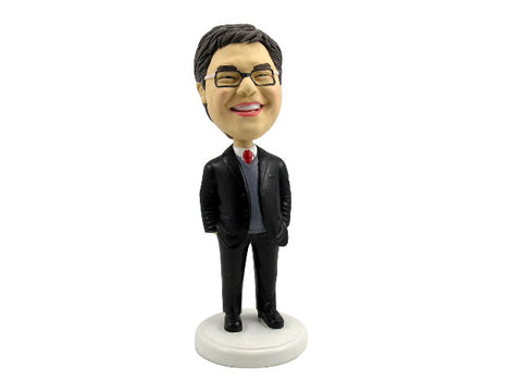 Business Professional Consultant Bobblehead
