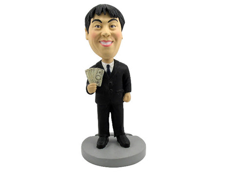 Professional Financial Consultant Bobblehead